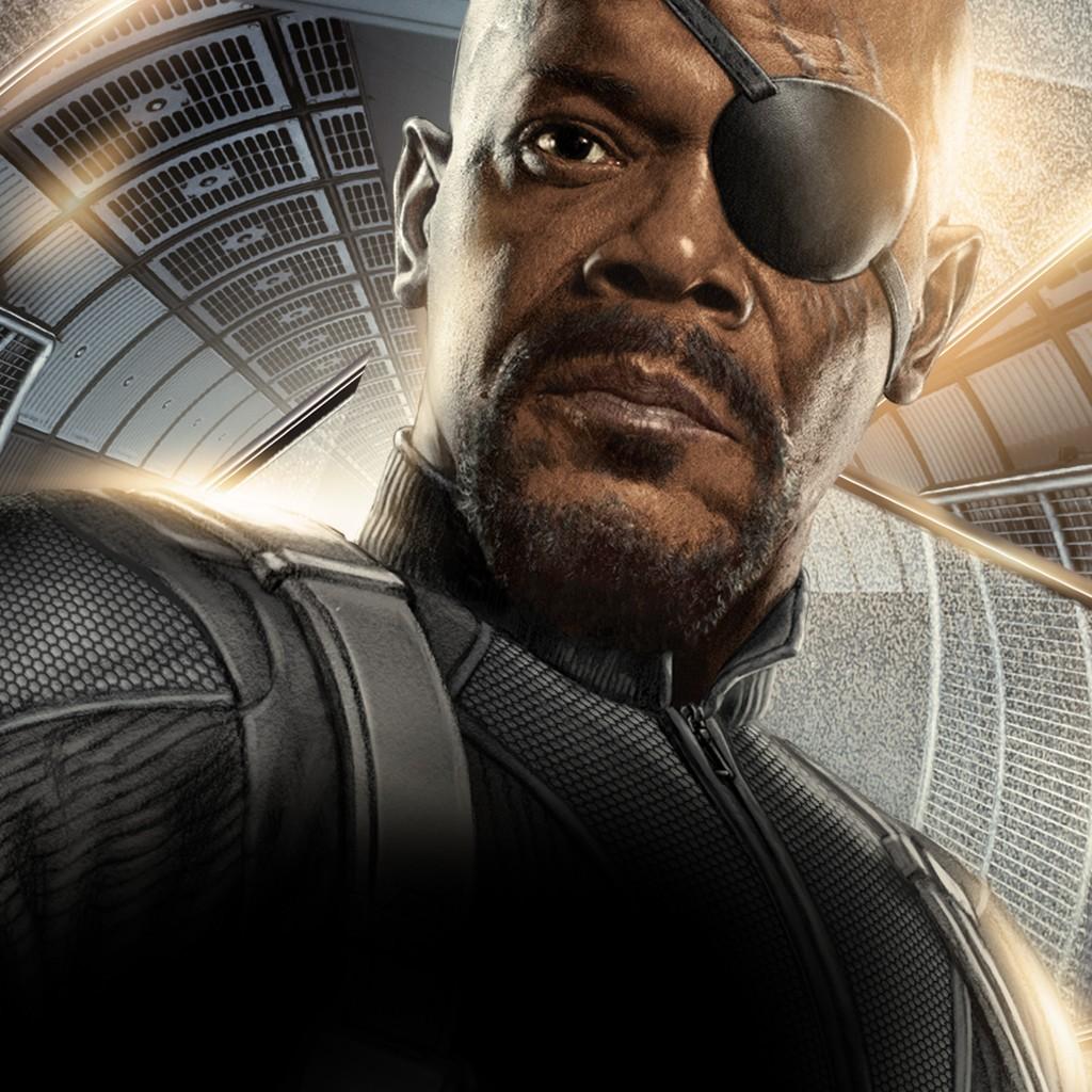 Avengers wallpaper 2 Nick Fury