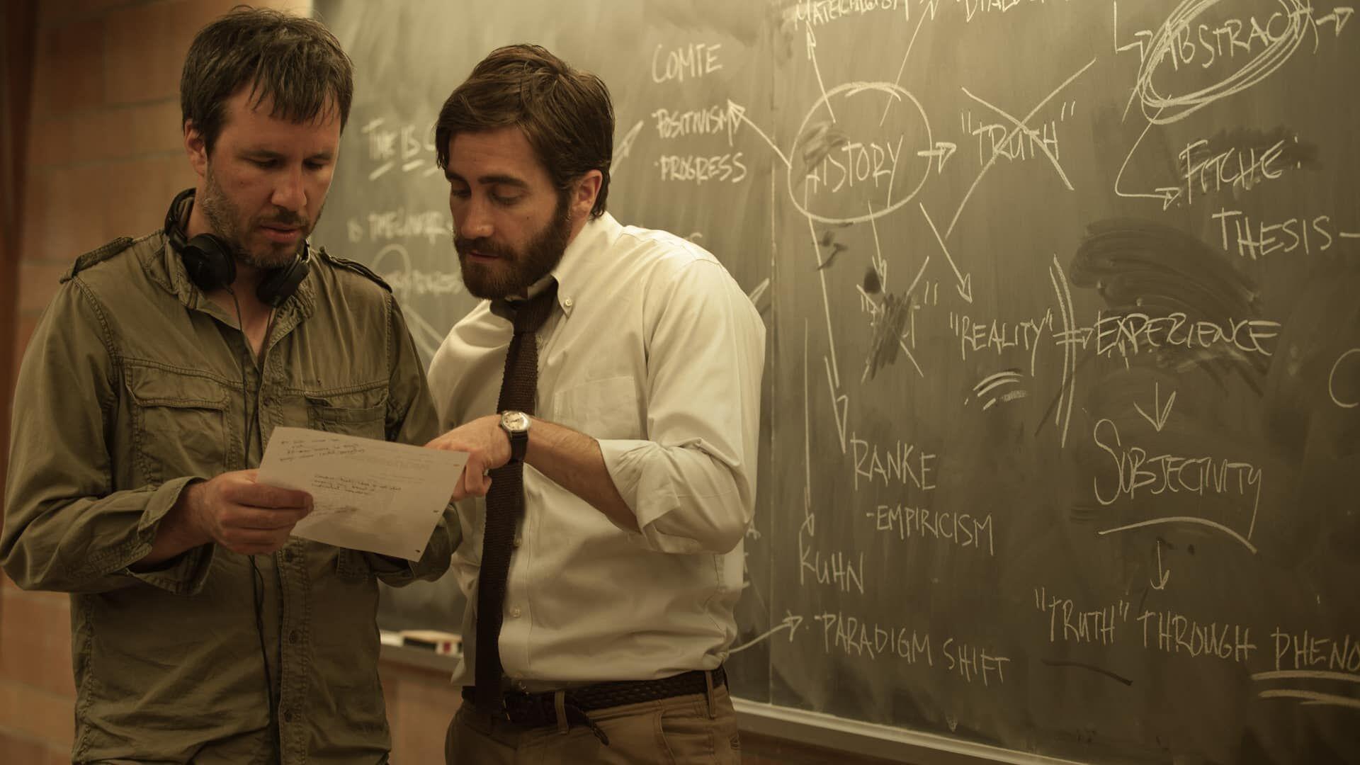 Jake Gyllenhaal and Denis Villeneuve