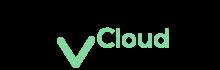 cloudvist siyah logo
